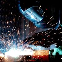 Участок сварки и обработки металлов